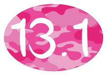 Load image into Gallery viewer, 13.1 Camo Colored Oval Decal