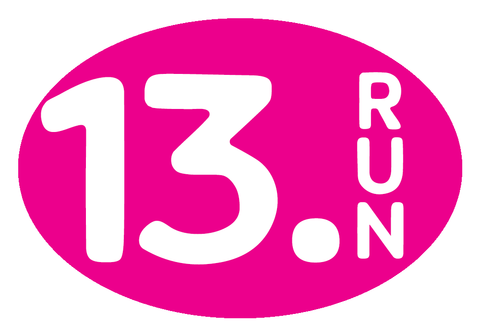 13.Run Oval Decal - Pink