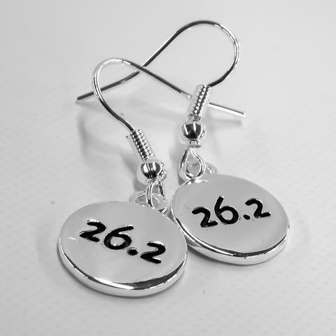 26.2 Silver Plated Disc Earrings