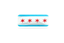 Load image into Gallery viewer, Chicago Flag Headband