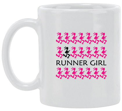 All Over Runner Girls Ceramic Mug