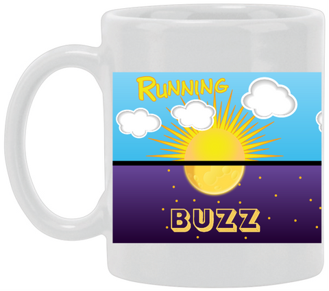 Running Buzz Ceramic Mug
