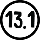 13.1 Colored Round Decal (F) - 11 Colors Available