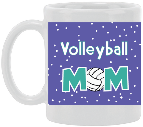 Volleyball Mom Ceramic Mug