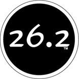 26.2 Colored Round Decal - Black