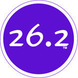 26.2 Colored Round Decal - Purple