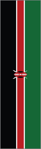 Kenya Country Flag Headband
