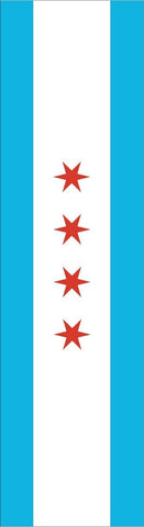 Chicago City Flag Headband