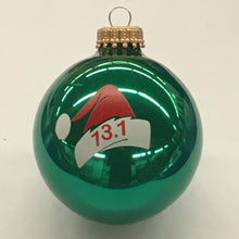 Load image into Gallery viewer, Santa Cap Green Ornament