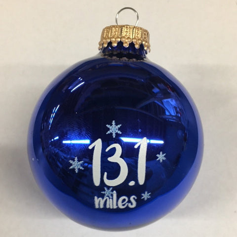 Christmas Ornament 13.1 Miles