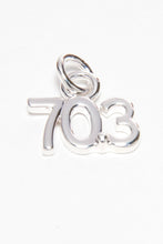 Load image into Gallery viewer, Silver Plated Small Floating Charm