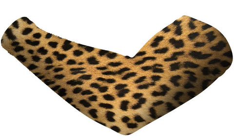 Cheetah Print Arm Sleeves