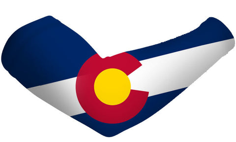 Colorado State Flag Arm Sleeves