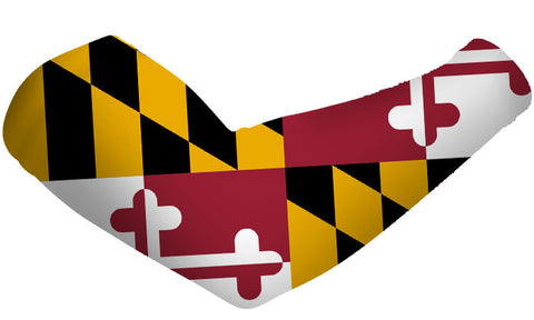 Maryland State Flag Arm Sleeves
