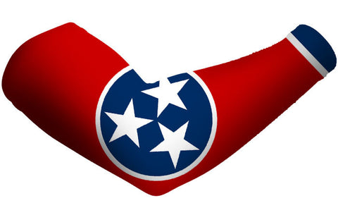 Tennessee State Flag Arm Sleeves