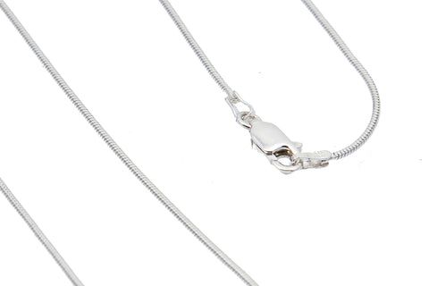 18 inch Silver Plated Necklace Chain