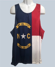 Load image into Gallery viewer, North Carolina Flag -- Men's Tank