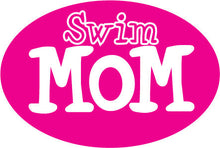Load image into Gallery viewer, Swim Member Pink Oval Magnet