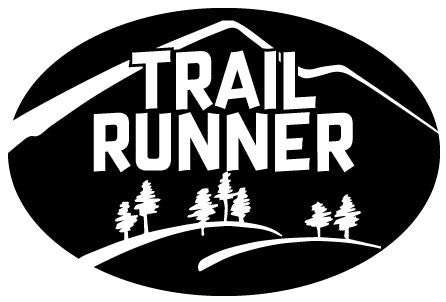 Trail Runner Oval Magnet