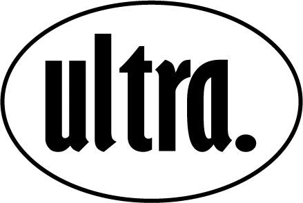 ultra. Oval Decal