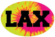 Load image into Gallery viewer, LAX Colored Oval Decal
