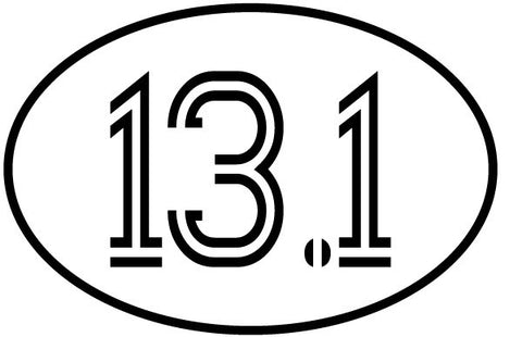 13.1 Oval Magnet - Retro