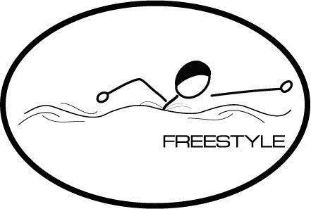 Freestyle Oval Decal