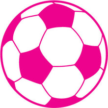 Load image into Gallery viewer, Soccer Ball Colored Round Decal
