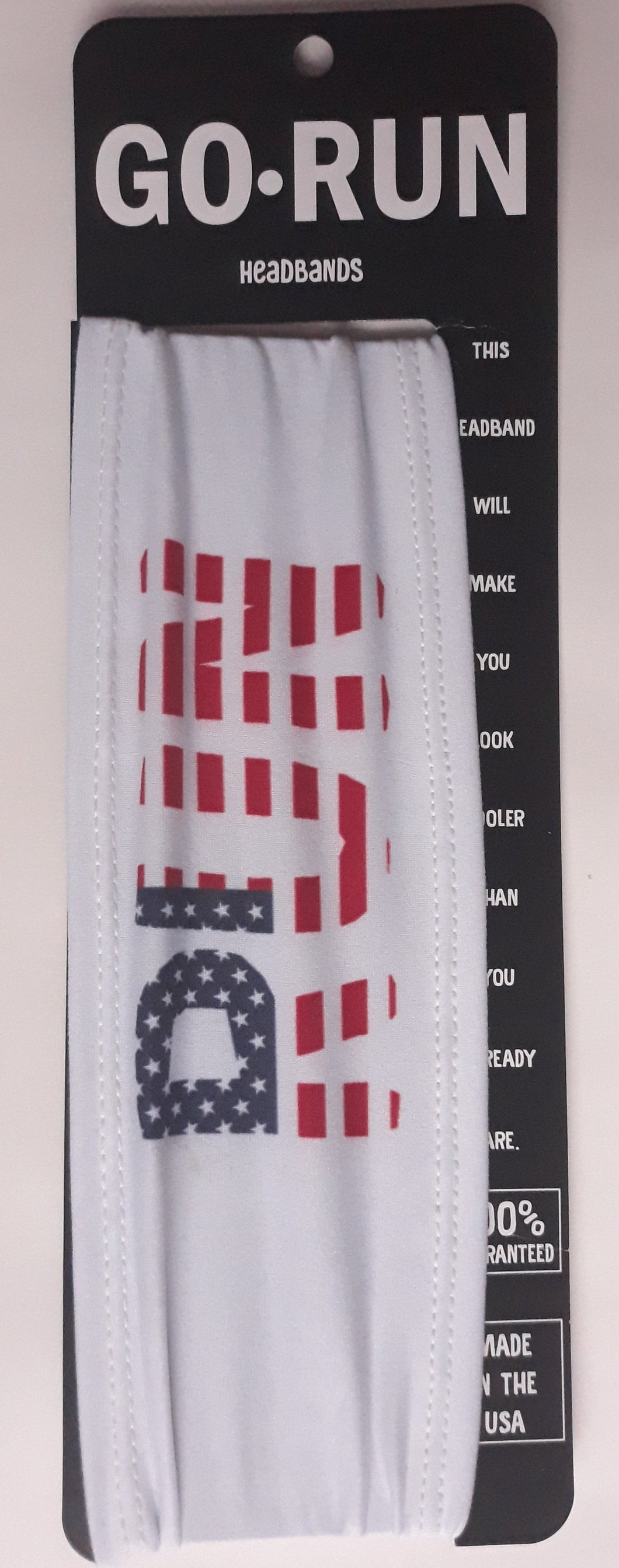 RUN USA Headband