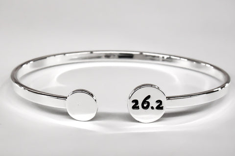 26.2 Silver Plated Bangle