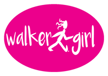 Load image into Gallery viewer, Walker Girl Colored Oval Decal