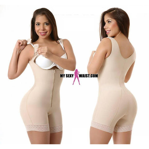 SHORT GIVE ME BODY-THICK STRAP-POWERNET-BODYSUIT - The Mysexywaist.com Store