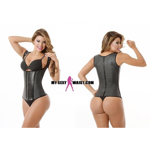 MYSEXYWAIST CLASSIC SNATCH LATEX VEST CINCHER (THICK STRAP) - The Mysexywaist.com Store