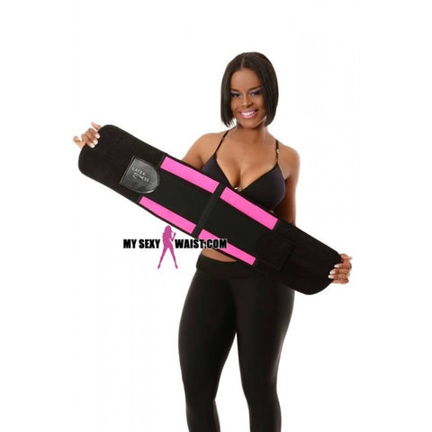 MYSEXYWAIST PINK LATEX FITNESS SNATCH BELT
