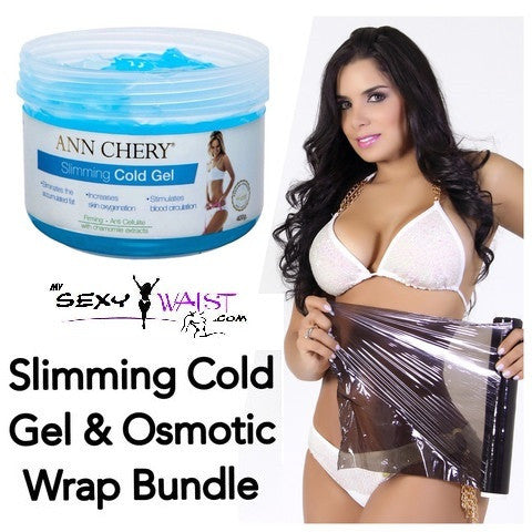 ANN CHERY SLIMMING COLD GEL-400G JAR & OSMOTIC WRAP BUNDLE - The Mysexywaist.com Store