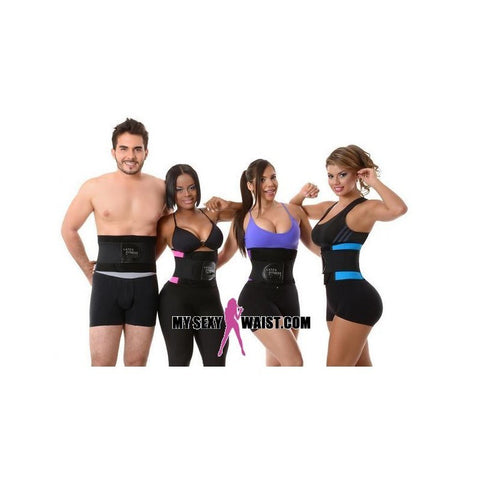 MYSEXYWAIST BLACK LATEX FITNESS SNATCH BELT