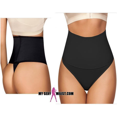 MOLDEATE HIGH WAIST SHAPER WITH THONG - The Mysexywaist.com Store