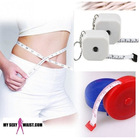 KEEP TRACK-WITH THIS KEY CHAIN WAIST MEASURING TAPE - The Mysexywaist.com Store