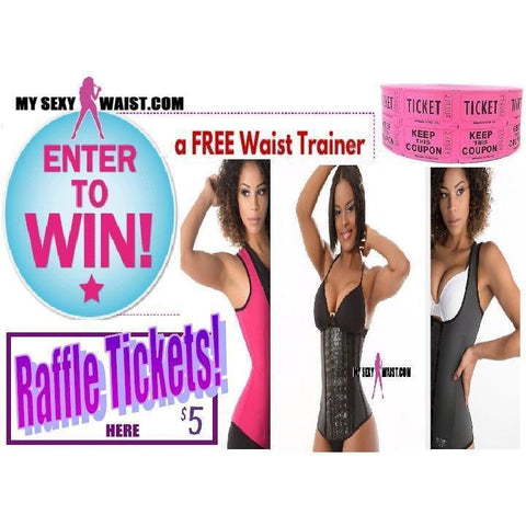 $5 GIVEAWAY RAFFLE TICKET - The Mysexywaist.com Store