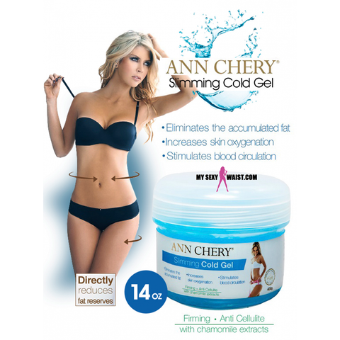 ANN CHERY SLIMMING COLD GEL 400G - JAR - The Mysexywaist.com Store