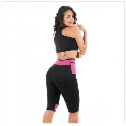 DELUXE NEOPRENE SPORT SWEAT BRA NO ZIPPER - The Mysexywaist.com Store
