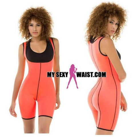 ULTRA SWEAT THERMAL NEOPRENE BODYSUIT - The Mysexywaist.com Store