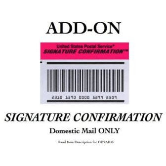 Signature Confirmation Receipt - The Mysexywaist.com Store