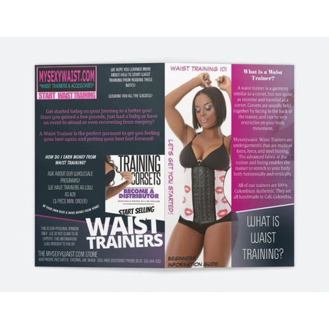 THE MYSEXYWAIST SMALL WAIST TRAINING 101 GUIDE - SHIPS FREE!