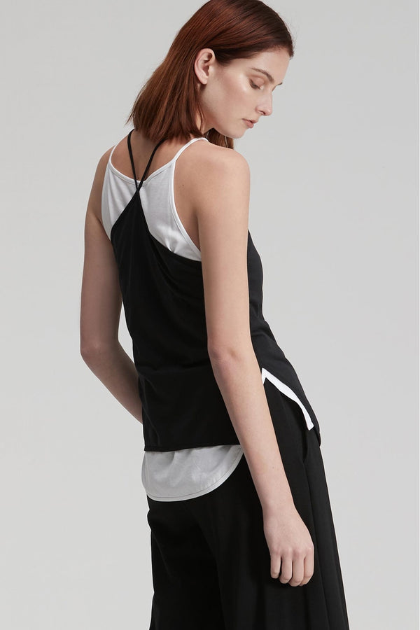 Taylor Extension Tank Long Black