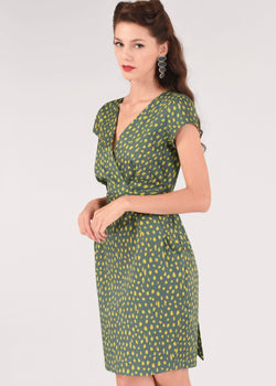 Closet Pencil Dress With Cap Sleeves