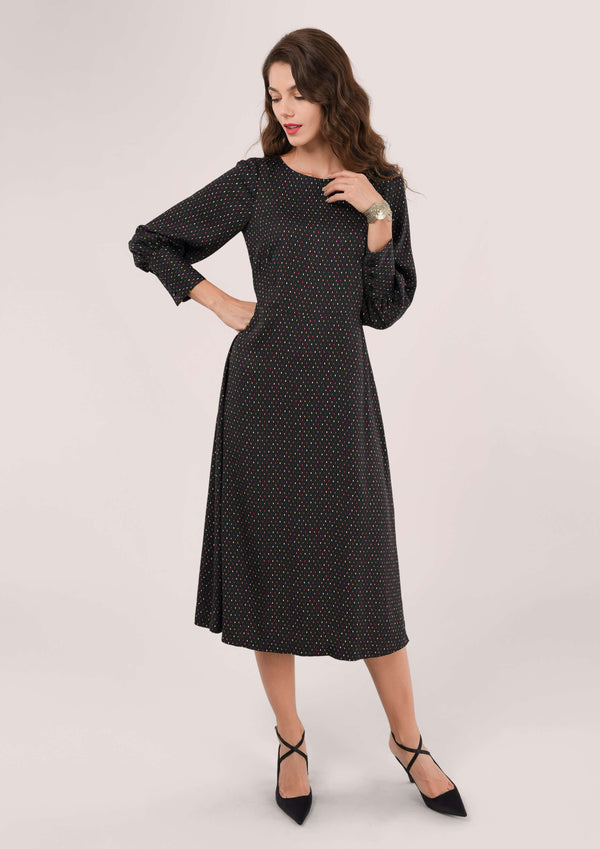 Closet A-Line Midi Dress