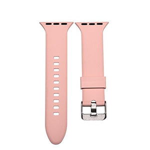 Apple Watch Silicone Band (Pink)