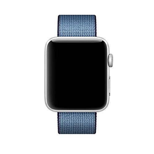 Nylon Apple Watch Band (Solid, Midnight Blue Nylon)