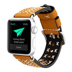 Load image into Gallery viewer, Genuine Leather Apple Watch Band